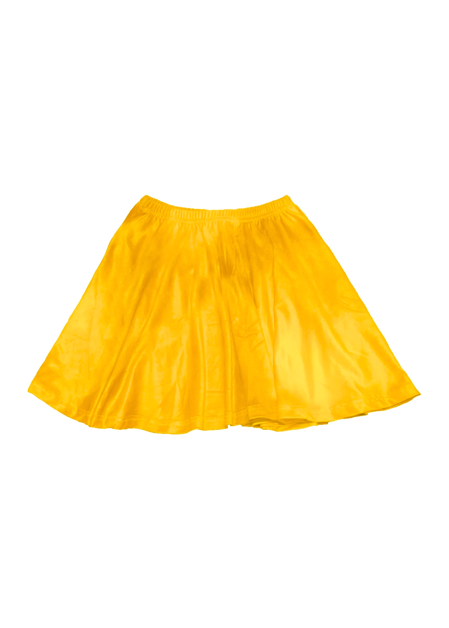 velvet skater skirt in mango