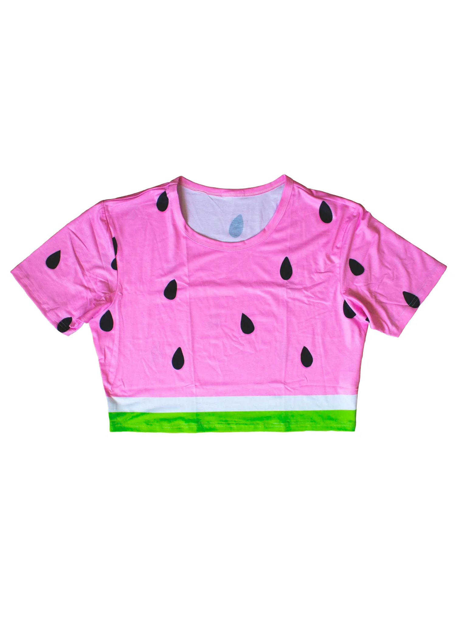 watermelon crop tee