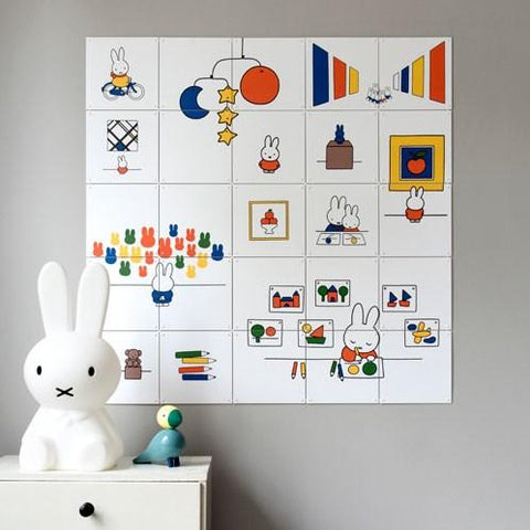 Mural Miffy at the Museum IXXI