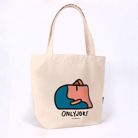 Tote Bag Logo BOLSOS TOTE BAG ONLY JOKE