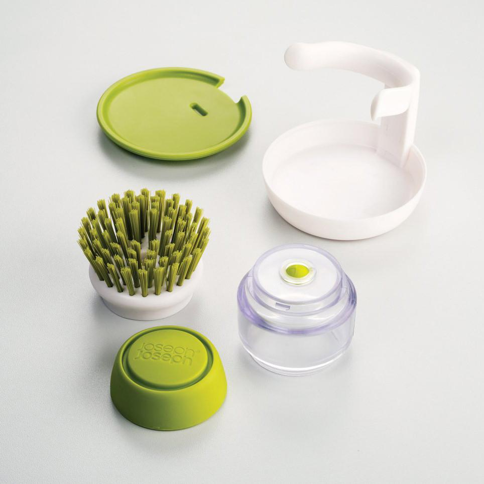 Cepillo con Dispensador Palm™ Verde JOSEPH JOSEPH- Depto51