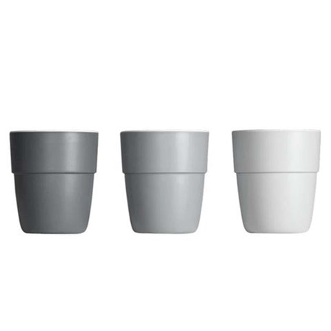 Set de 3 Mini vasos Yummy Gris DONE BY DEER- Depto51