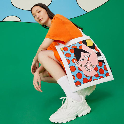 Tote Bag Vogue ONLY JOKE- Depto51