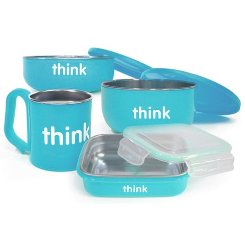 Set de Comida ThinkBaby Azul THINKBABY- Depto51