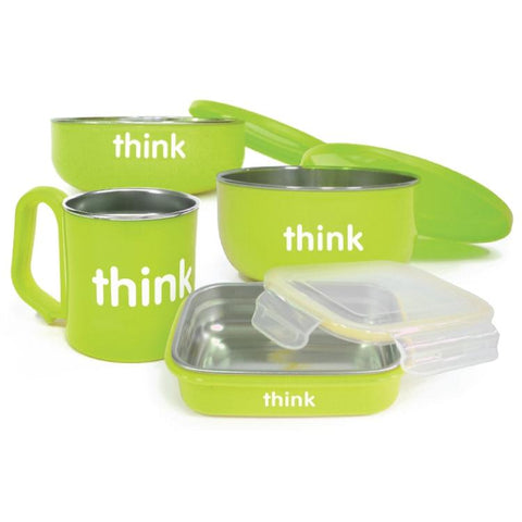Set de Comida ThinkBaby Verde THINKBABY- Depto51