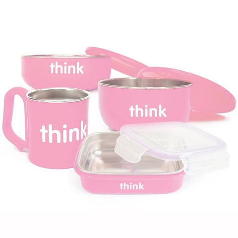 Set de Comida ThinkBaby Rosado THINKBABY- Depto51