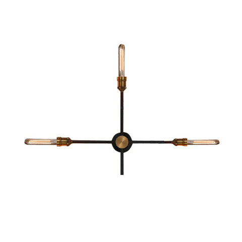 Aplique Weston 3 luces Negro WESTINGHOUSE- Depto51