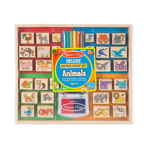 Set de Timbres Deluxe Animales