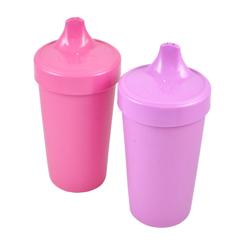 Pack 2 Vasos Antiderrame Morado y Fucsia I REPLAY RECYCLED