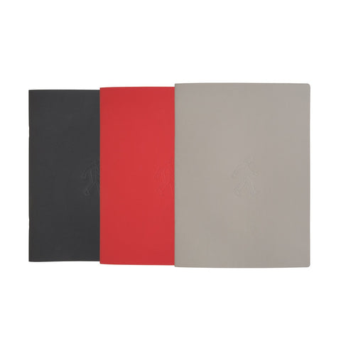 Pack de 3 Libretas Grandes Tricolor ONLY JOKE- Depto51