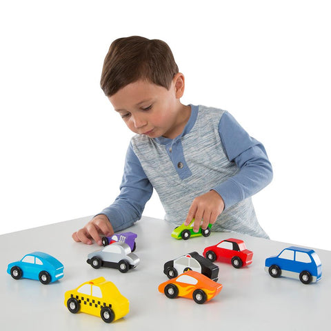 Set Autos de Madera Melissa & Doug