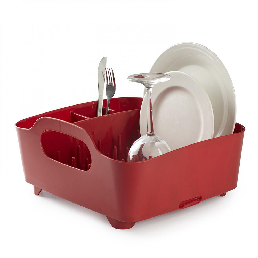 Seca Platos Tub Rojo UMBRA- Depto51