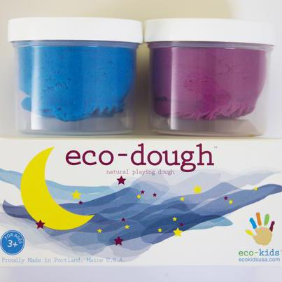 Pack 2 Plasticinas 100% Naturales Moon ECOKIDS- Depto51
