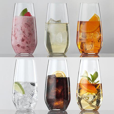 Set de 6 Vasos Largos Cristal Authentis Casual - SPIEGELAU