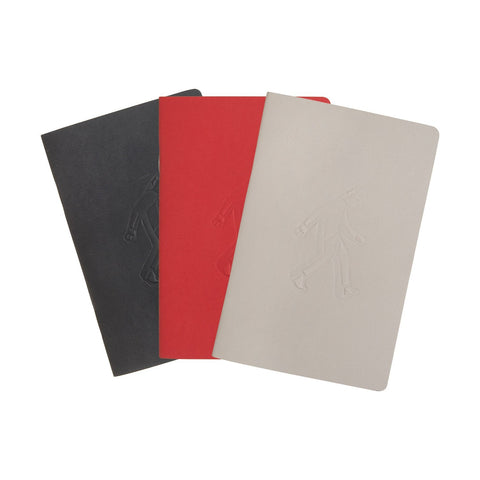 Pack de 3 Libretas Chicas Tricolor ONLY JOKE- Depto51