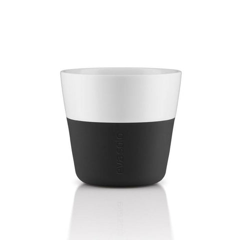 Set de 2 vasos Lungo Carbon black