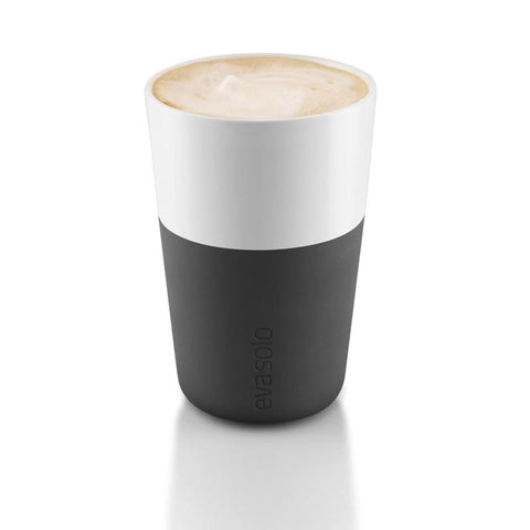 Set de 2 Vasos Latte Black