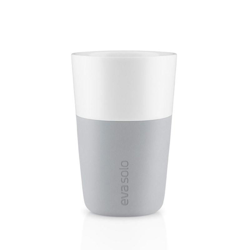 Set de 2 Vasos Latte Marbel Grey EVA SOLO- Depto51