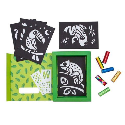 Set Arte en Foil Selva TIGER TRIBE- Depto51