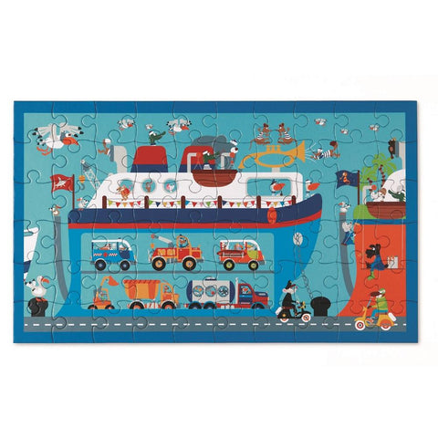 Puzzle Ferry 60 piezas SCRATCH-EUROPE- Depto51