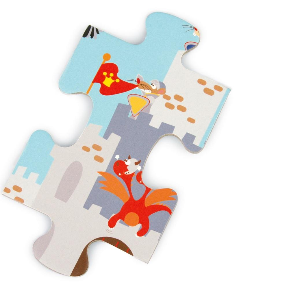 Puzzle Medieval SCRATCH-EUROPE- Depto51