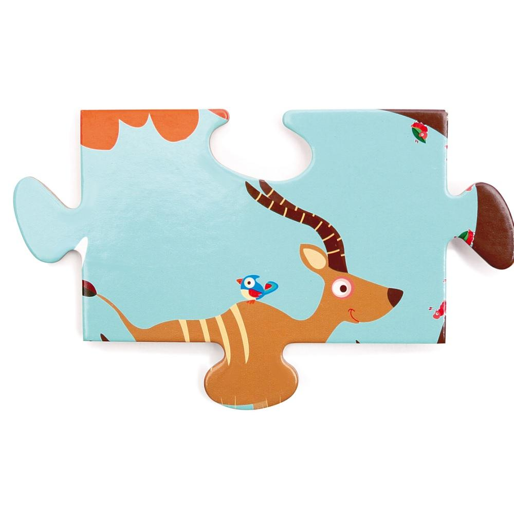Puzzle de piso 36 piezas Safari SCRATCH-EUROPE- Depto51