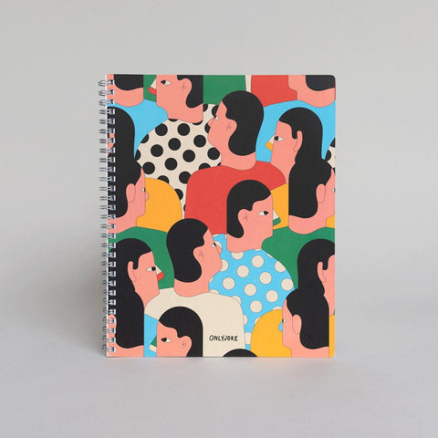 Pack 5 Cuadernos Universitarios Only Joke - ONLY JOKE