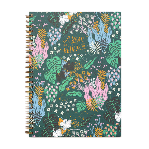 Cuaderno A4 Rayado - Happimess A Year To Believe In MONOBLOCK- Depto51