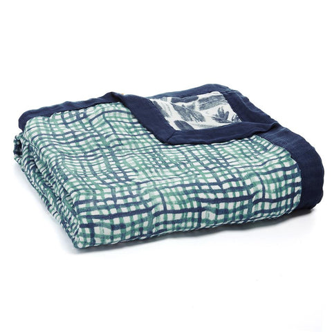 Manta Suave de Bamboo Dream Blanket Seaport I ADEN & ANAIS