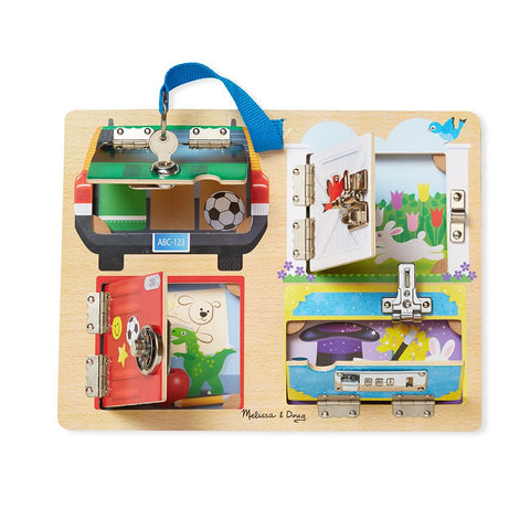 Tabla Lock and Latch Melissa and Doug I MELISSA & DOUG