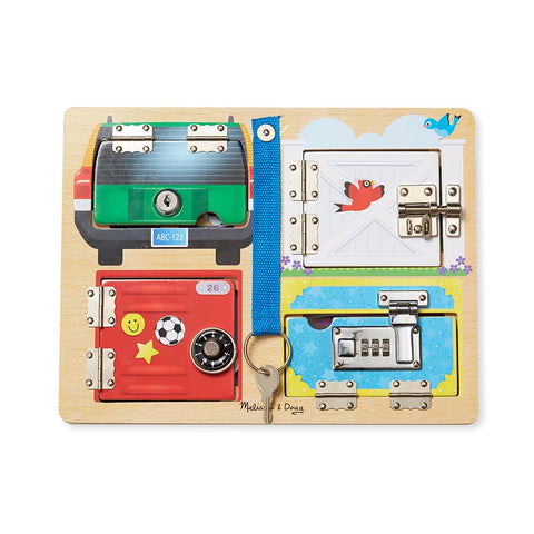 Tabla Lock and Latch Melissa and Doug