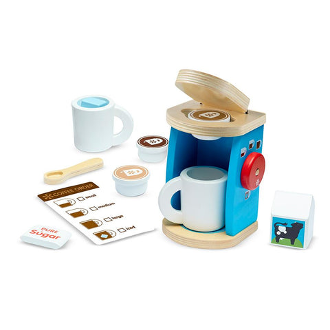 Set de Café de Madera Melissa and Doug I MELISSA & DOUG
