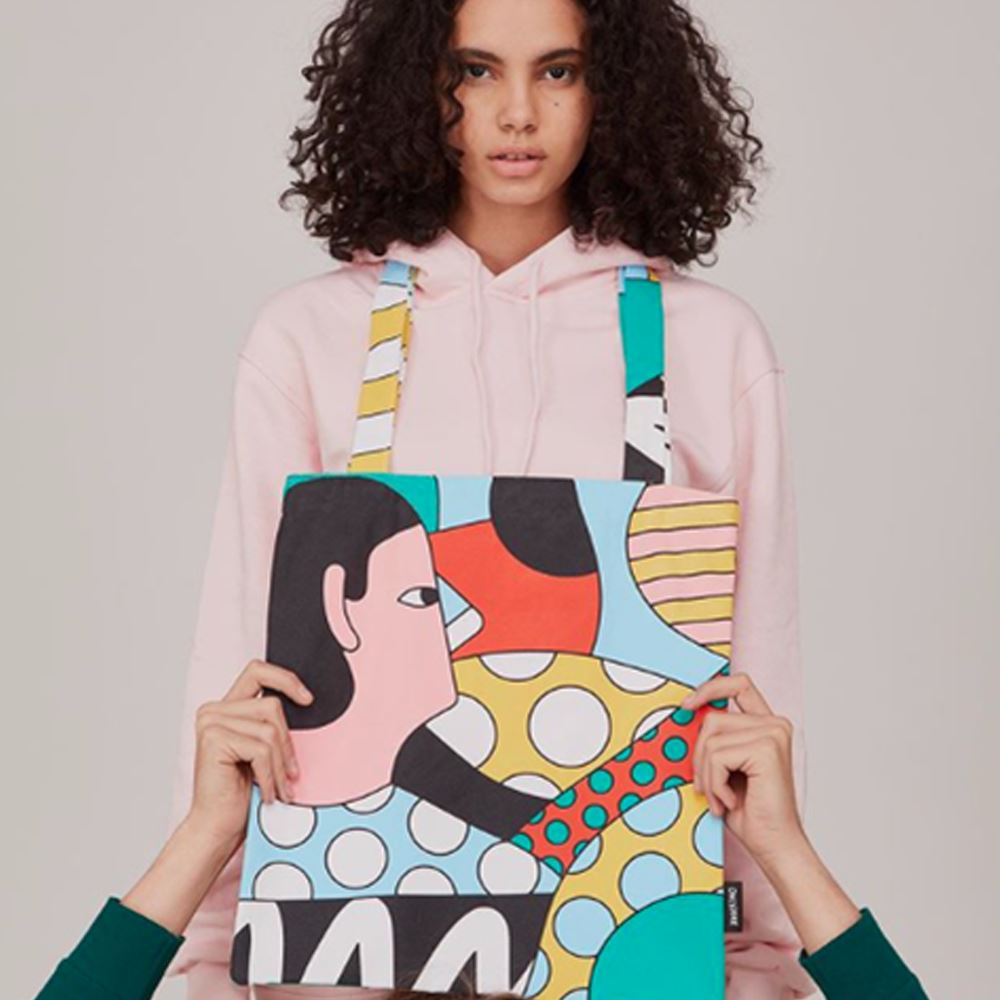 Tote Bag Colors ONLY JOKE- Depto51