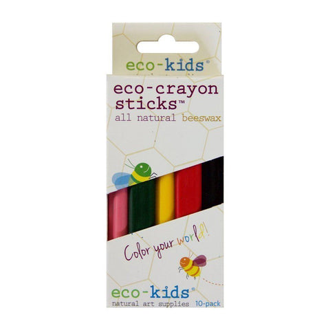 Eco-Crayones Lapices (pack de 10 unds)