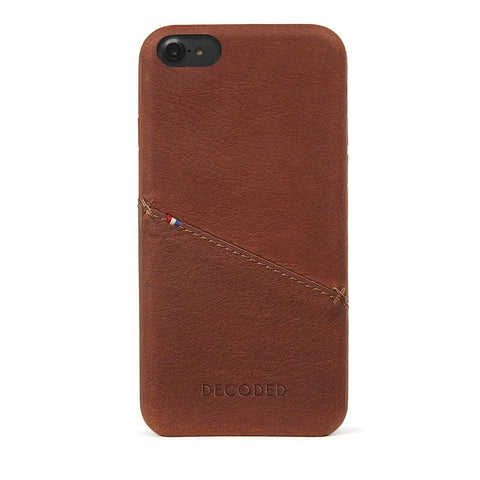 Funda de Cuero Snap-On iPhone 7/8 Café Decoded I DECODED