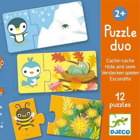 Puzzle Educativo Oculto y Encontrado DJECO- Depto51