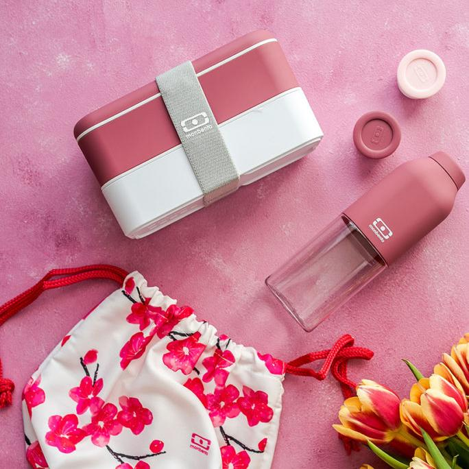 Botella Positive M Blush BOTELLAS MONBENTO