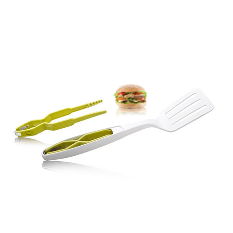 Espatula con Pinzas Tomorrow's Kitchen UTENSILIOS BASICOS DE COCINA TOMORROW'S KITCHEN