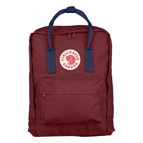 Mochila Kanken Classic Ox Red - Royal Blue