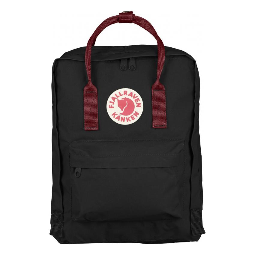 Mochila Kanken Classic Black-Ox Red KANKEN- Depto51