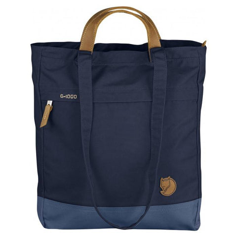 Bolso / Mochila Totepack Fjallraven Dark Navy-Uncle Blue - KANKEN