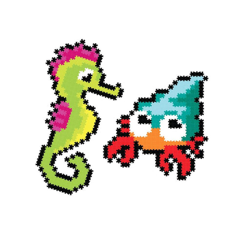 Puzzle de Pixeles Jixelz Sea Friends FATBRAIN TOY- Depto51