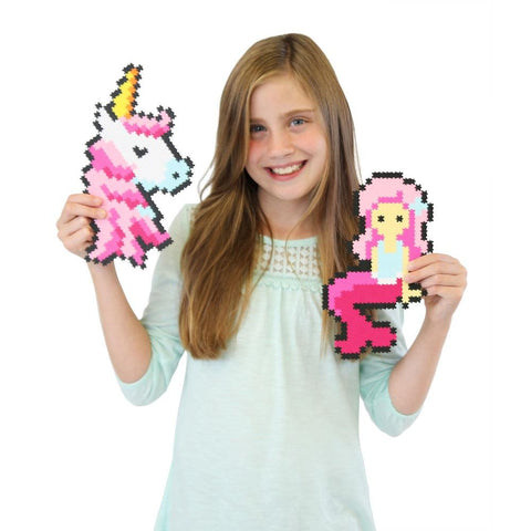 Puzzle de Pixeles Jixelz Fantasy Friends FATBRAIN TOY- Depto51