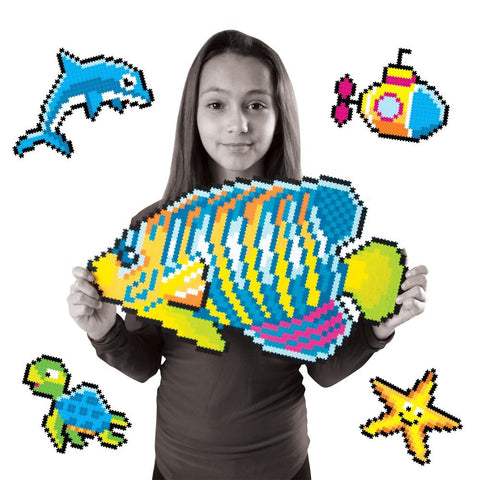 Puzzle de Pixeles Jixelz Under the Sea Puzzles FATBRAIN TOY