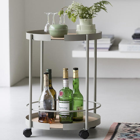 Carro Bar S Big Hug Gris MUEBLE BAR DESIGN BITE