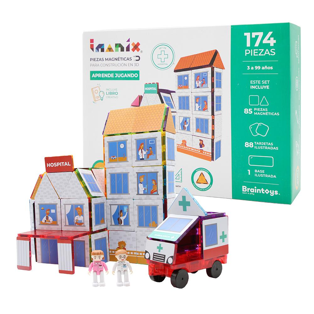 Imanix Hospital 174 piezas BRAINTOYS- Depto51