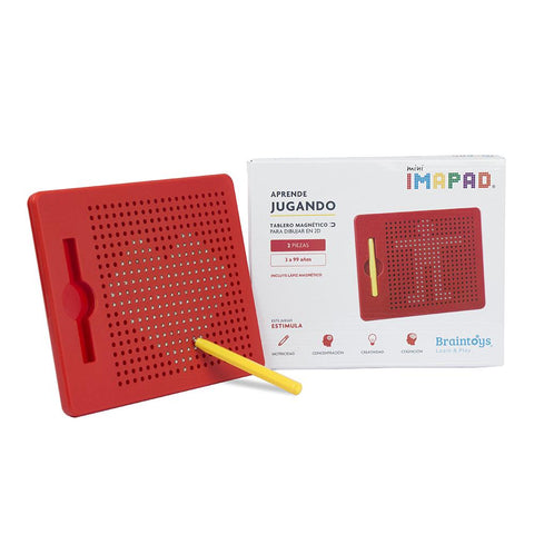 Imapad mini Rojo - BRAINTOYS