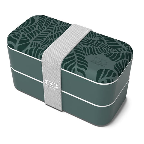 Contenedor de Alimentos Bento Box Original Collection Jungle CONTENEDORES PICNIC Y ALMUERZOS MONBENTO