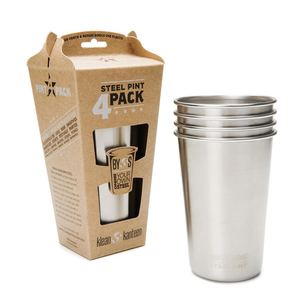 Set de 4 Vasos Steel Pint 473 ml KLEAN KANTEEN- Depto51