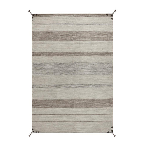 Alfombra Kelim Tribal Natural Brown
